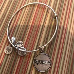 Alex & Ani Rutgers bracelet